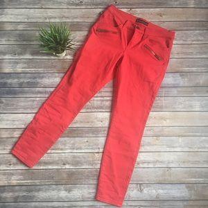 Rock & Republic Kashmiere red skinny jeans